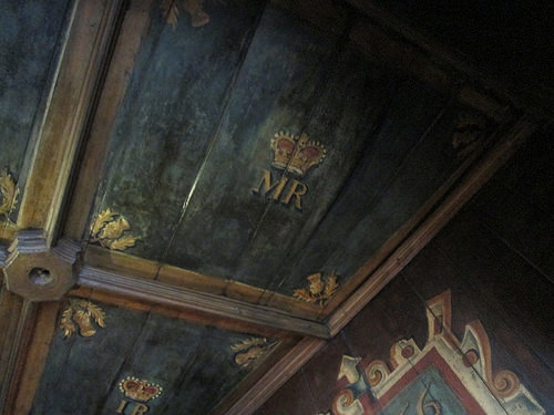 The bedroom of Mary, Queen of Scots