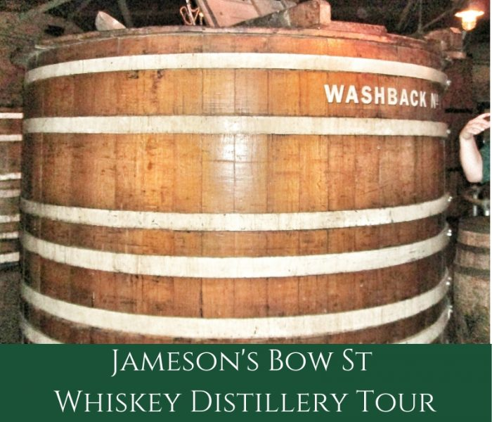 History Bite: Jameson's Whiskey Washbacks