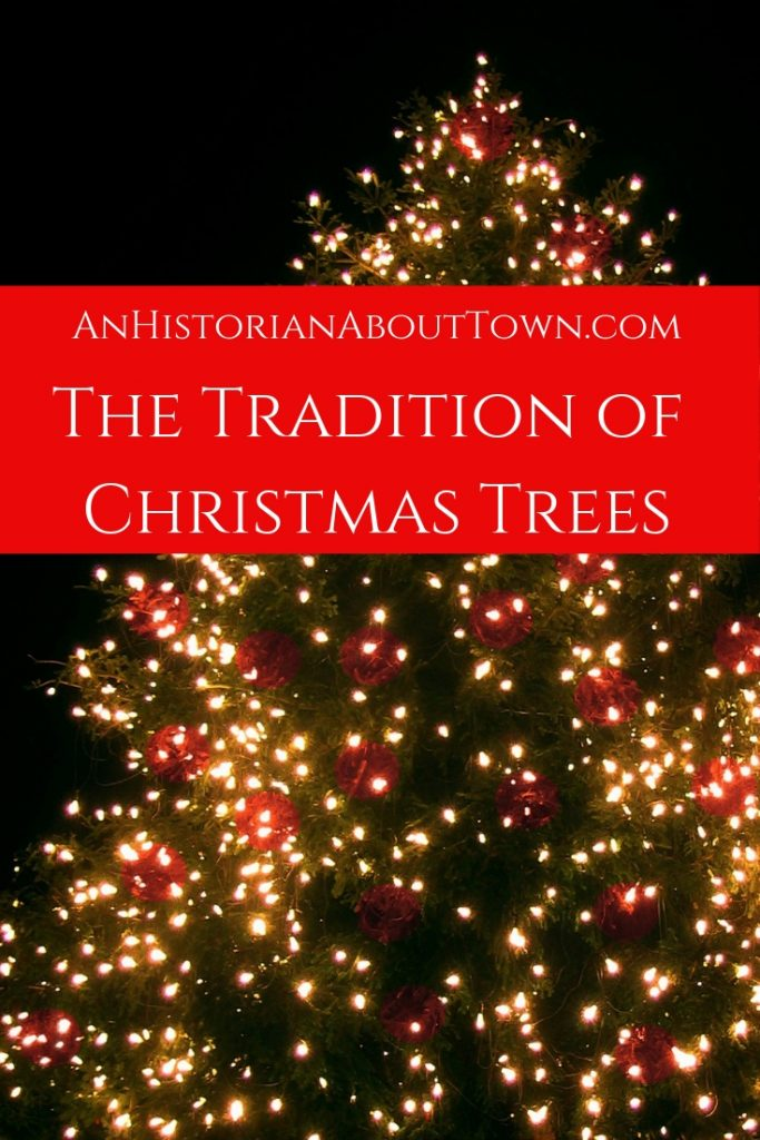 A Tradition of Christmas Trees