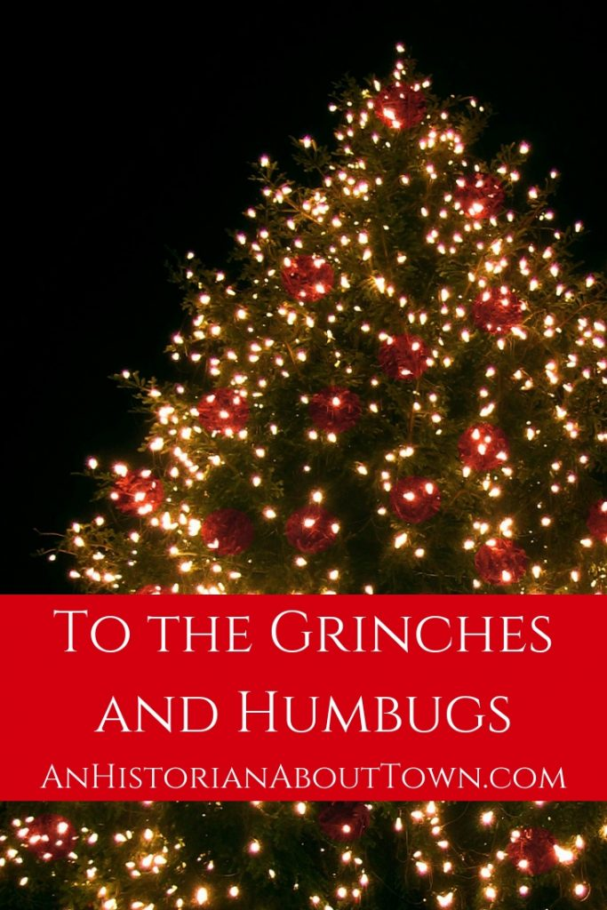 a letter to grinches