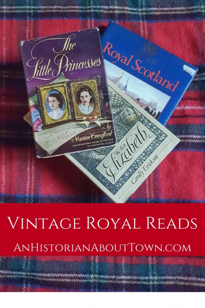A collection of vintage royal reads