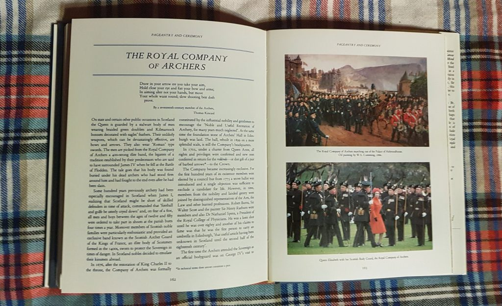 Royal Archers Company in Debrett's Royal Scotland