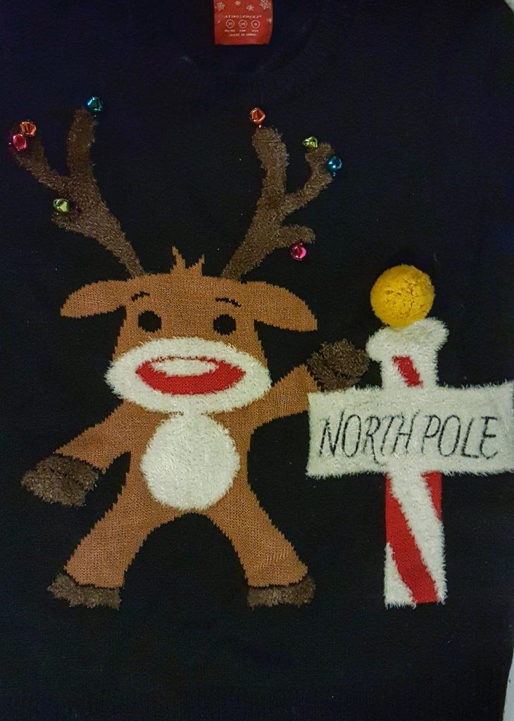 Jingle Bells Ugly Christmas Sweater
