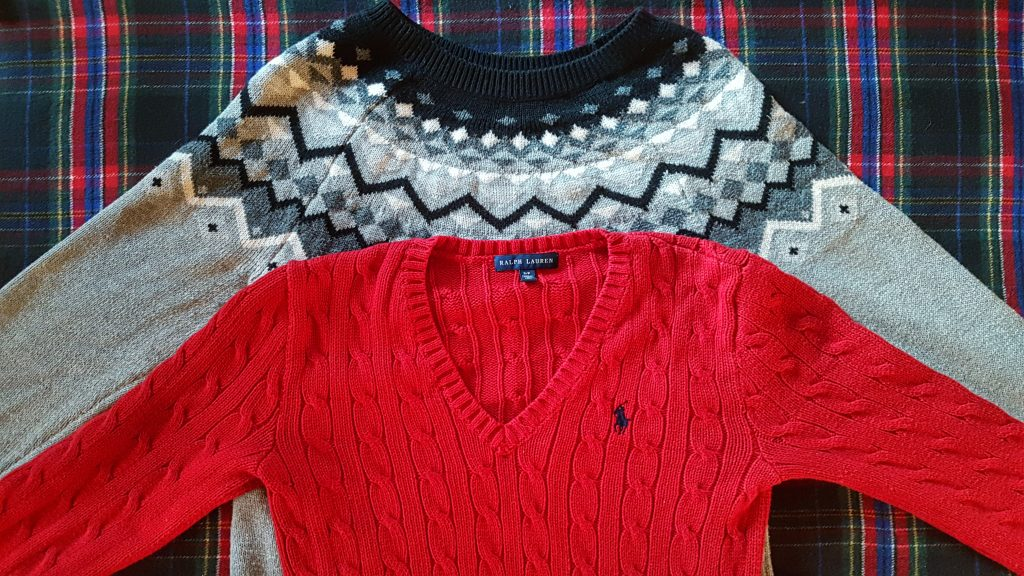 Fair Isle and Cable Knit Sweaters