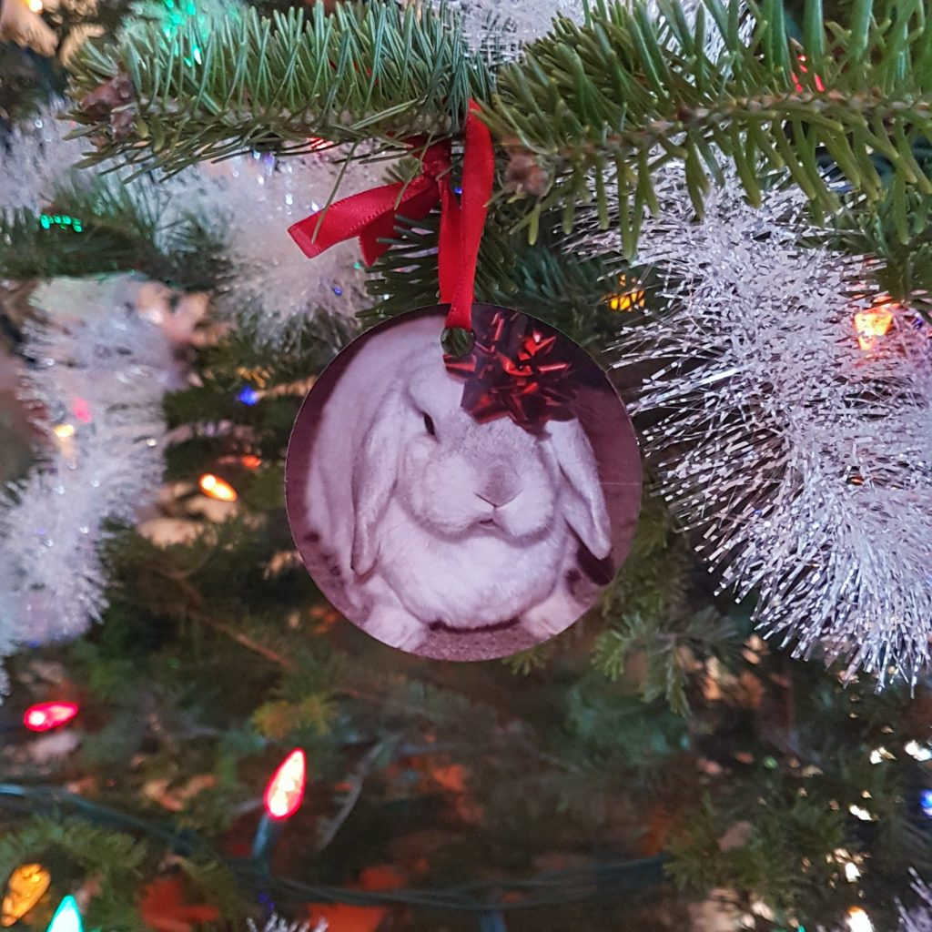 Butters the Rabbit Ornament of the Day
