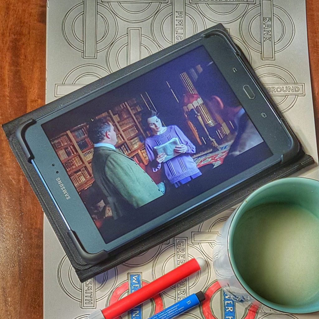 Downton Abbey on Tablet