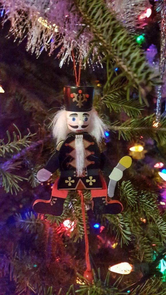 Movable Nutcracker Ornament