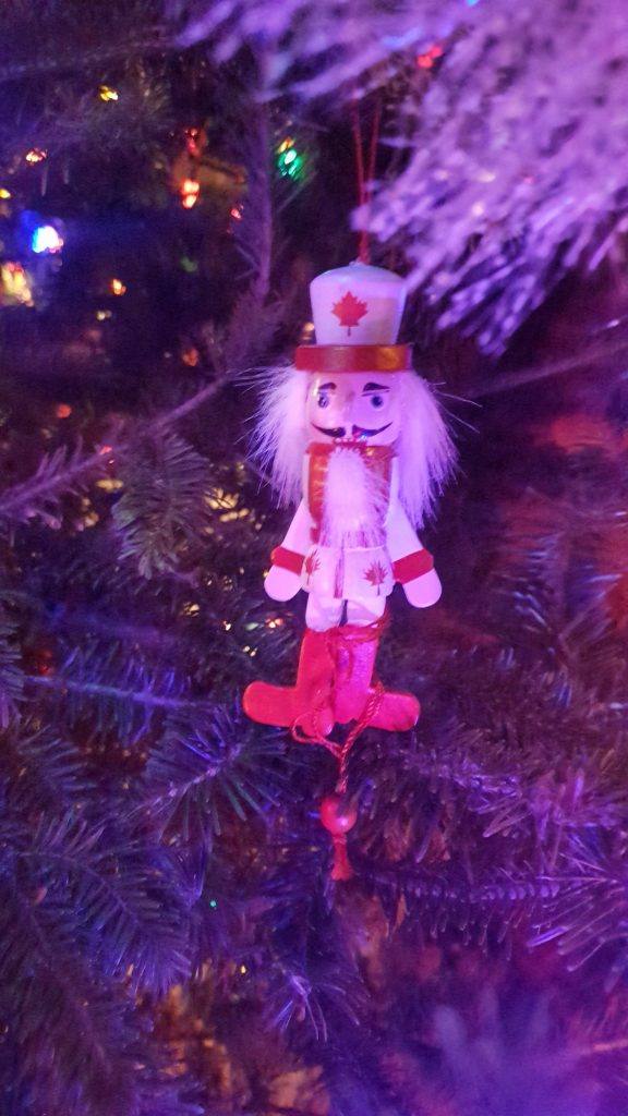 Canadian Nutcracker Ornament