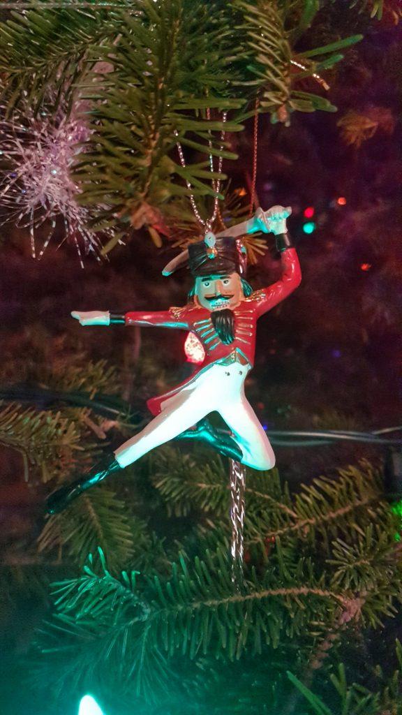 Action Nutcracker Ornament