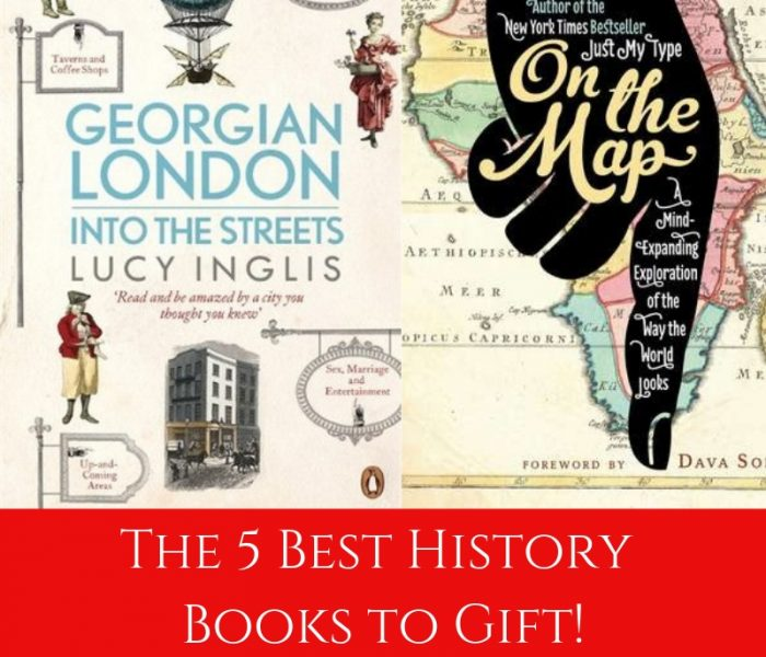 The 5 Best History Books to Gift! (Blogmas 2018)