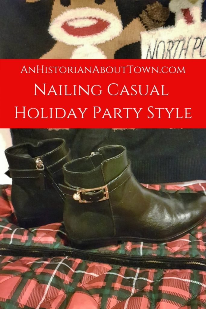 Nailing Casual Holiday Party Style