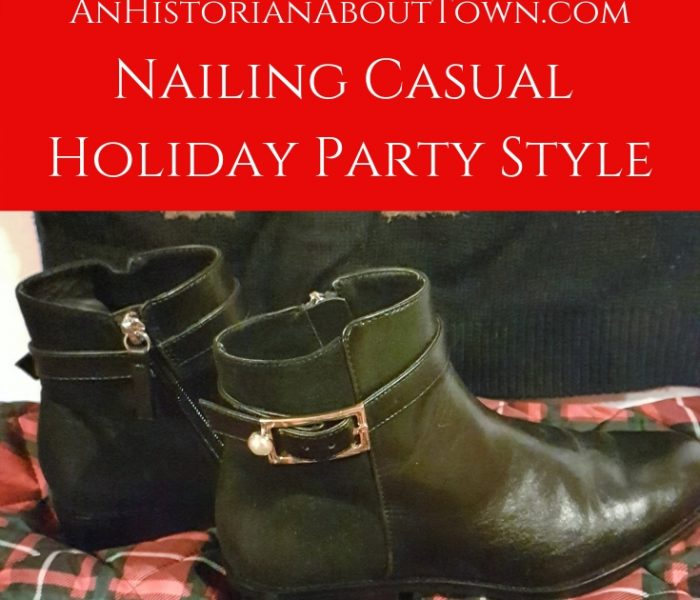 Nailing Casual Holiday Party Style, Style File Friday