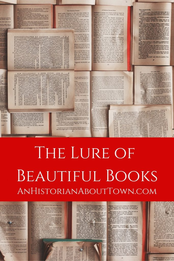 The Lure of Beautiful Books