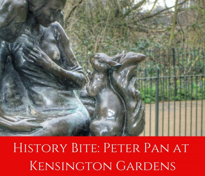 History Bite: Peter Pan in Kensington Gardens