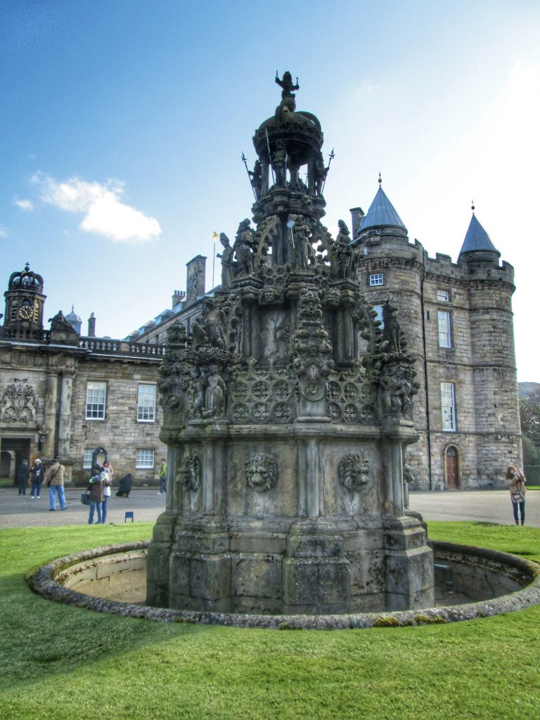 Holyrood Fountain in forecourt